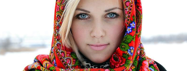 как красиво одеть платок